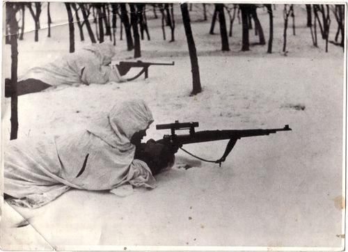 Rumänischer Scharfschütze